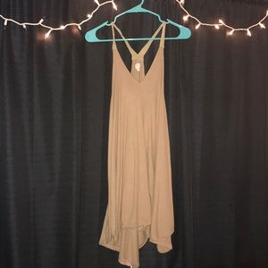 Nude colored dress